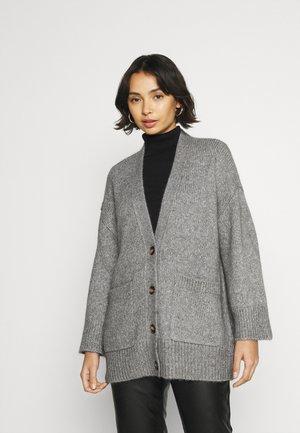 SLFOLIVE CARDIGAN  - Vest - light grey melange
