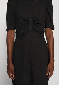 Pieszak - VENICE DRESS - Shirt dress - black - 6