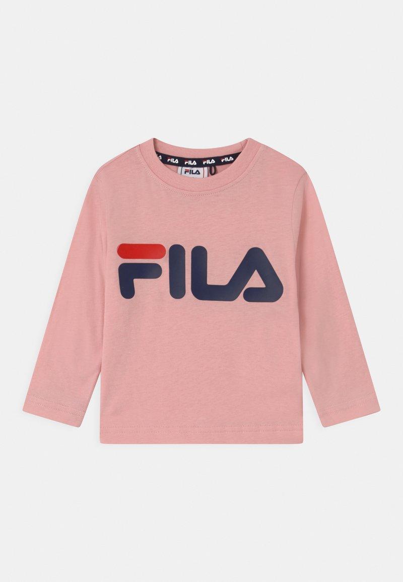 Fila - NICK BASIC LONGSLEEVE UNISEX - Longsleeve - coral blush