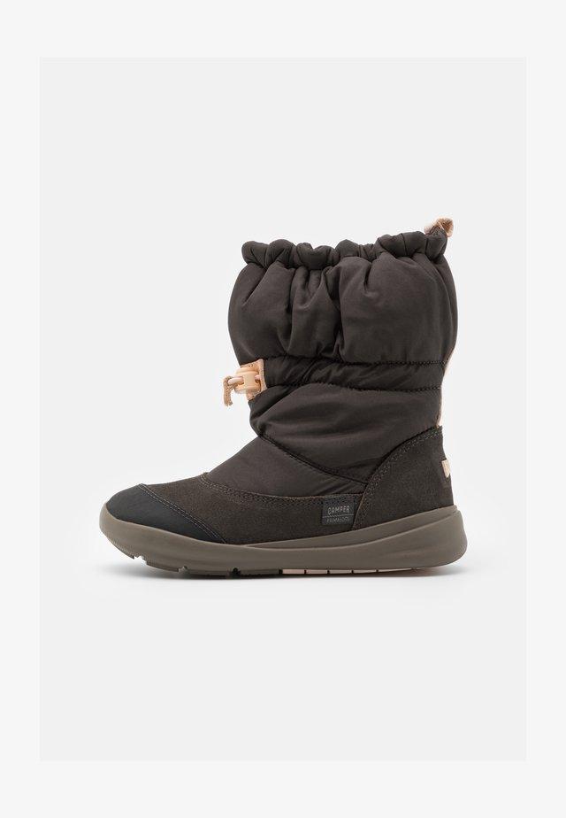 ERGO KIDS - Zimní obuv - dark gray