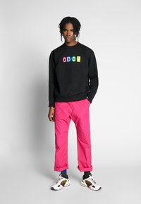 Obey Clothing - BIG SHOTS CREW - Sweatshirt - black - 1
