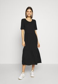 JDY - JDYDALILA FROSTY - Jersey dress - black - 0