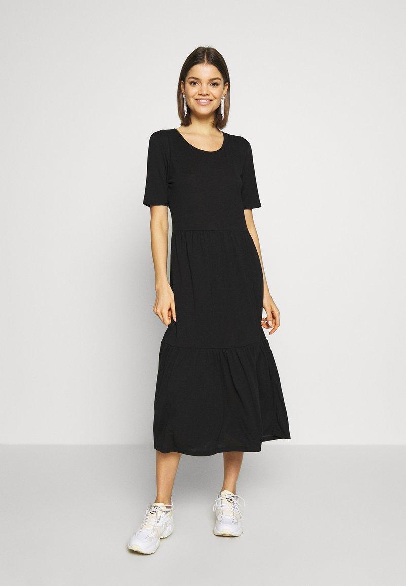 JDY - JDYDALILA FROSTY - Jersey dress - black