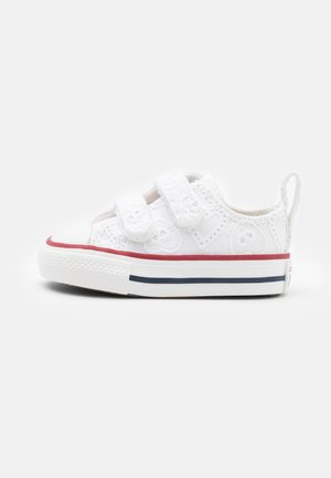 CHUCK TAYLOR ALL STAR UNISEX - Trainers - white/garnet/midnight navy