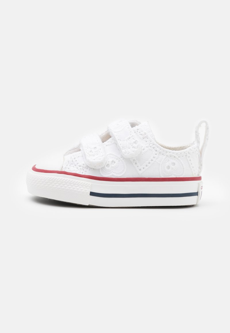 Converse - CHUCK TAYLOR ALL STAR UNISEX - Trainers - white/garnet/midnight navy