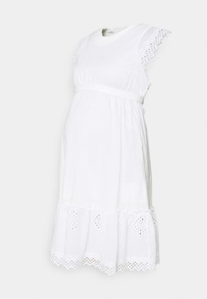 MLGRAZIE DRESS - Jersey dress - snow white