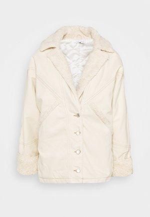 COAT - Winter jacket - ecru