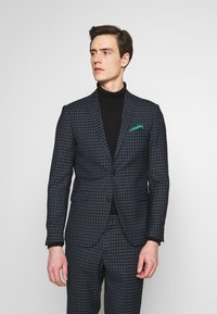 Lindbergh - CHECKED SUIT - Oblek - navy - 2