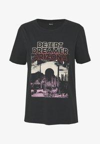 Gina Tricot - EDITH TEE - T-shirt imprimé - offbl/desert - 4