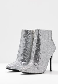 Even&Odd - High heeled ankle boots - silver - 4