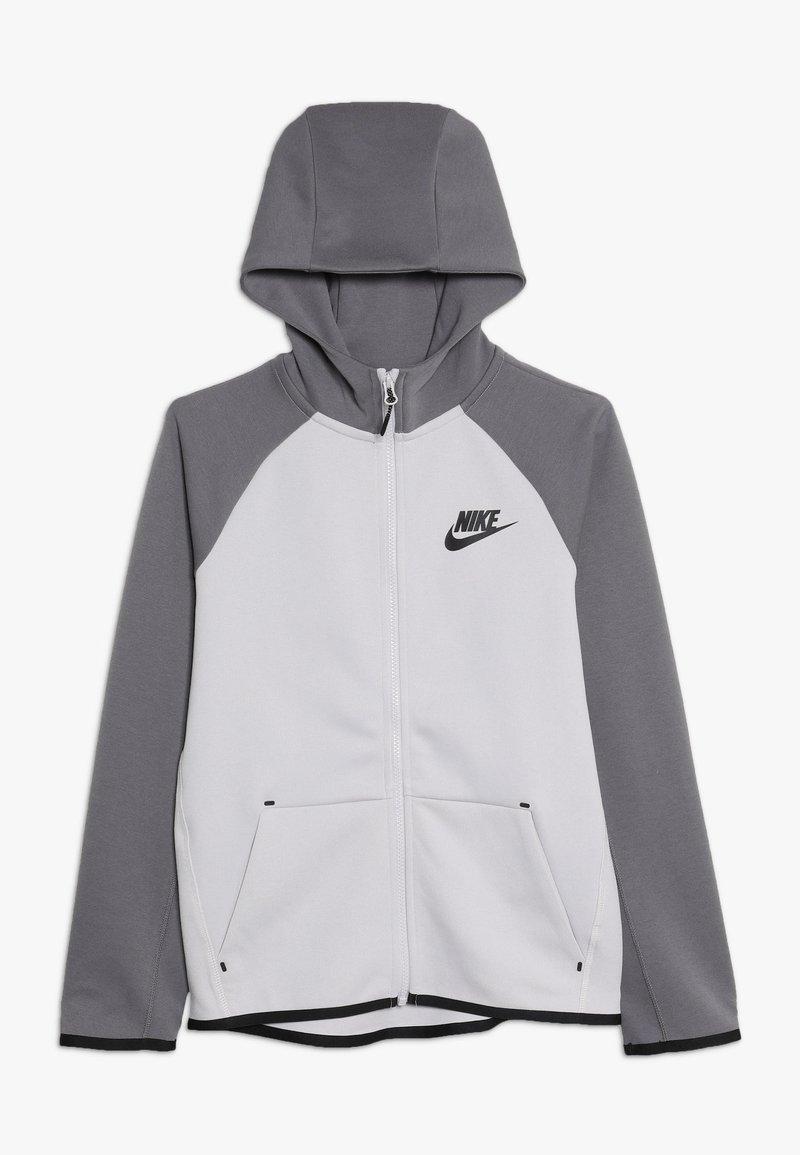Nike Sportswear - TECH FLEECE ESSENTIALS - Zip-up hoodie - vast grey/gunsmoke/black