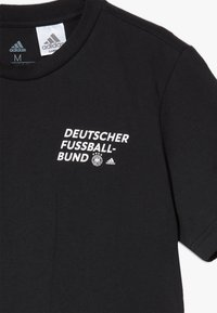 adidas Performance - DFB DEUTSCHLAND KIDS TEE UNISEX - T-shirt print - black - 4