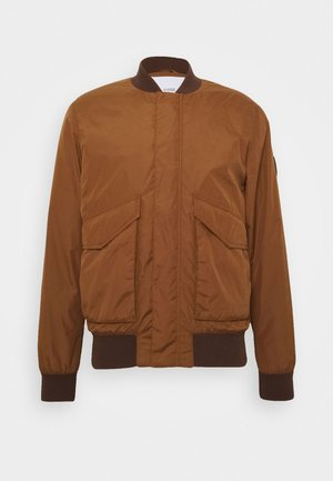 Bomber bunda - antique wood