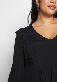Cotton On Curve - BRITT BABYDOLL MINI DRESS - Sukienka letnia - black - 5