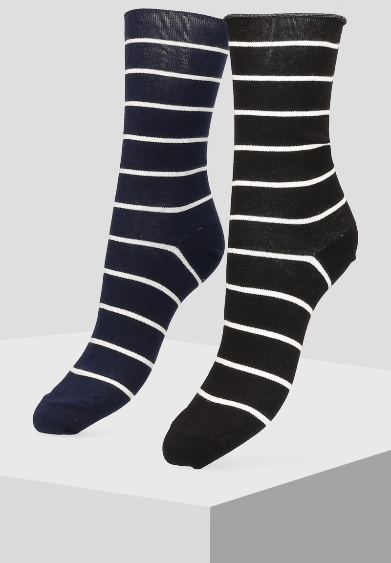 Libertad - 2 PACK - Socks - blue