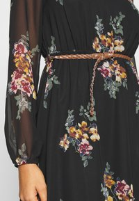 Vero Moda - VMNEWALLIE BELT SHORT DRESS - Vestito estivo - black - 4