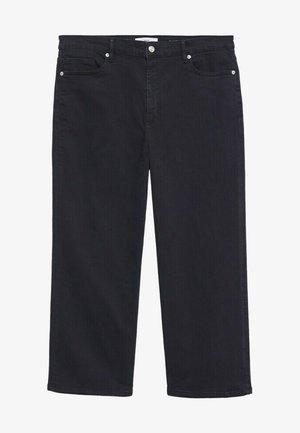 CHARLOTE - Široké džíny - open grey