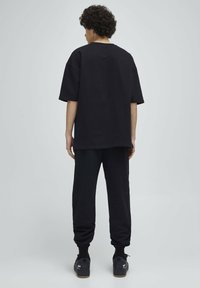 PULL&BEAR - Print T-shirt - mottled dark grey - 2