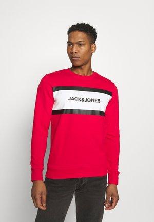 JJSHAKE CREW NECK - Sweatshirt - true red
