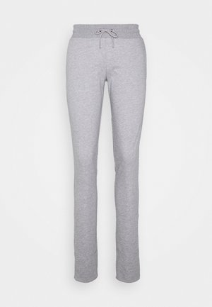 KARLA - Tracksuit bottoms - light grey melange