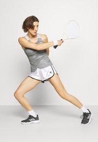 adidas Performance - CLUB SHORT - Krótkie spodenki sportowe - white - 1