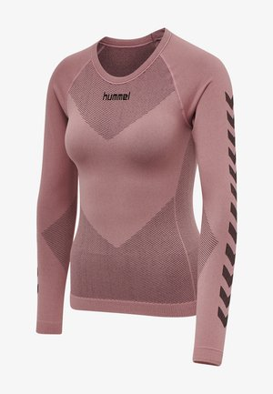FIRST SEAMLESS WOMAN - Long sleeved top - dusty rose