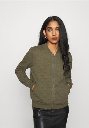 ONLKIMBERLY JOYCE - Zip-up hoodie - kalamata