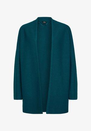 Cardigan - poseidon blue