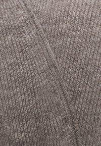 CLOSED - WOMEN´S WRAP CARDIGAN MIDI - Cardigan - grey heather melange - 2