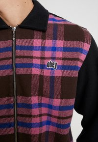 Obey Clothing - ZIP - Shirt - brown/multi - 4
