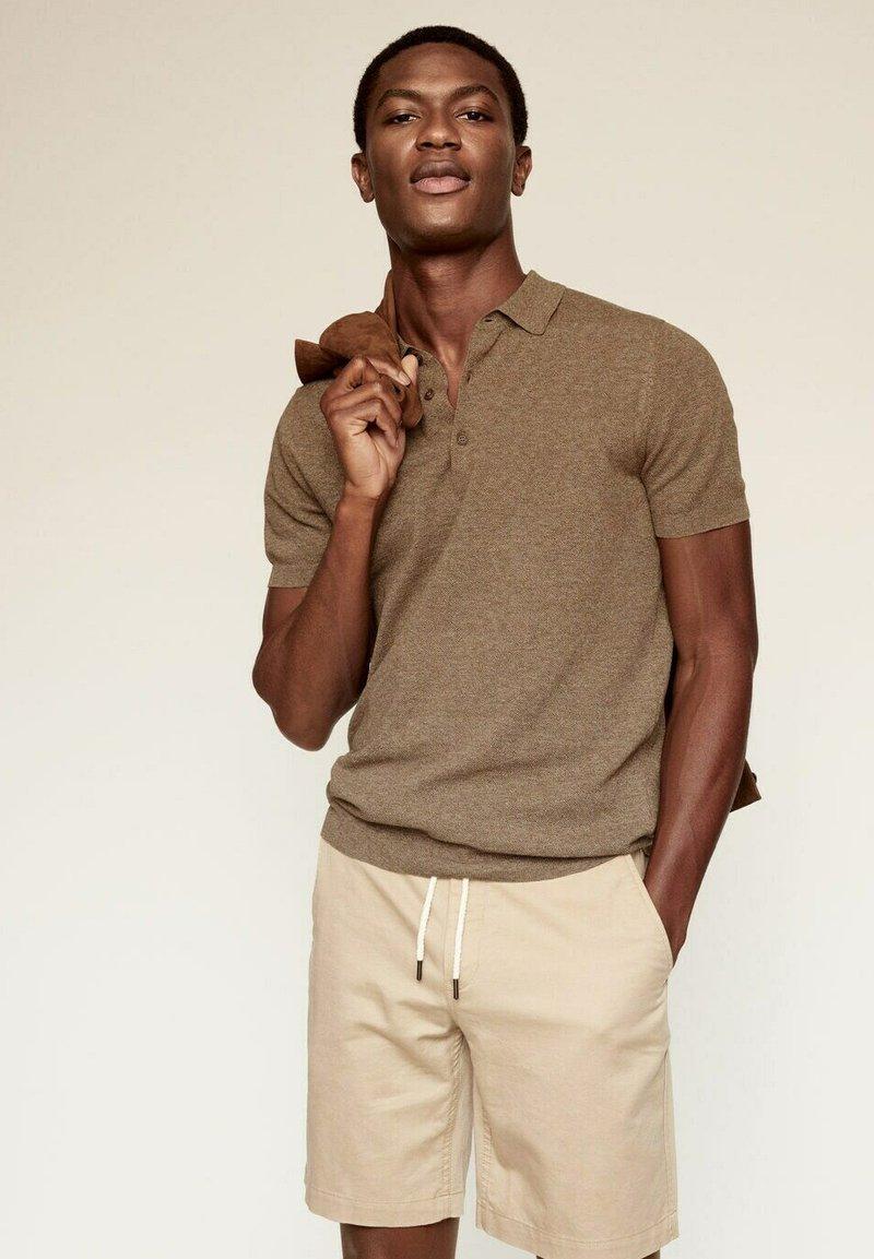 Mango - ANDREW - Polo shirt - koper