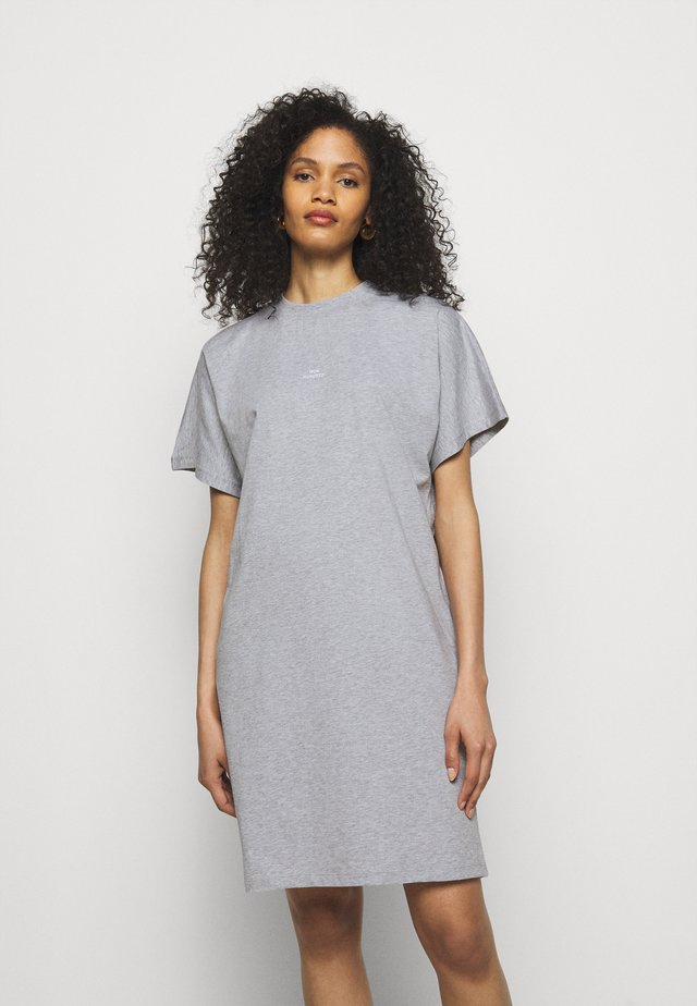 BROOKLYN DRESS - Trikoomekko - grey melange