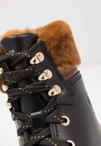 Panama Jack - PANAMA IGLOO BROOKLYN - Lace-up ankle boots - black - 2