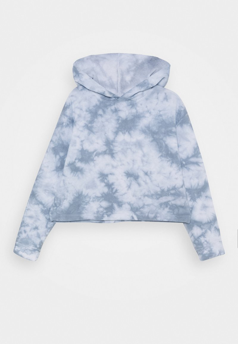 Cotton On - SERENA CROP HOODIE - Mikina s kapucí - dusty blue
