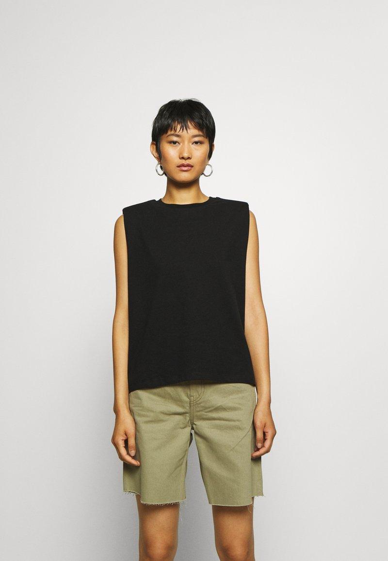 AllSaints - CONI TANK - Topper - black