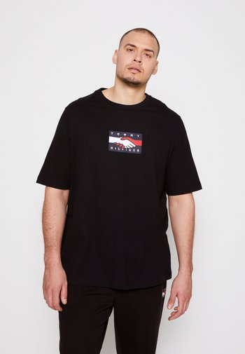 PLANET BACK TEE UNISEX - Print T-shirt - black