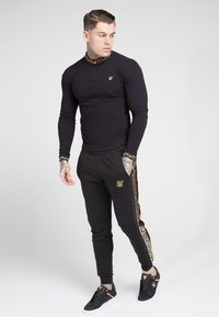 SIKSILK - LONG SLEEVE CHAIN  - Long sleeved top - black/gold - 1