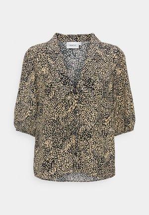 JODIS BLOUSE - Button-down blouse - sahara dust