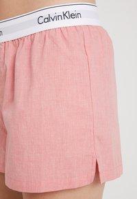 Calvin Klein Underwear - SLEEP SHORT - Pyjama bottoms - pomelo heather - 4