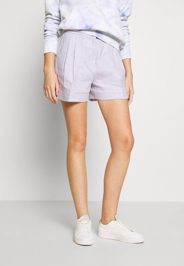 PLEATED - Shorts - lavender mist