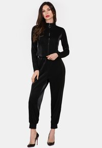 faina - Tracksuit bottoms - black - 1
