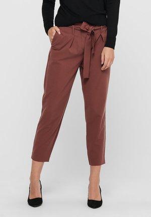 ONLNICOLE PAPERBAG  - Pantaloni - sable
