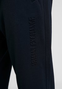 Armani Exchange - TROUSER - Tracksuit bottoms - navy - 5