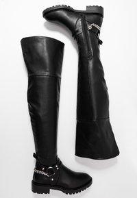 Even&Odd - Høye støvler - black - 3