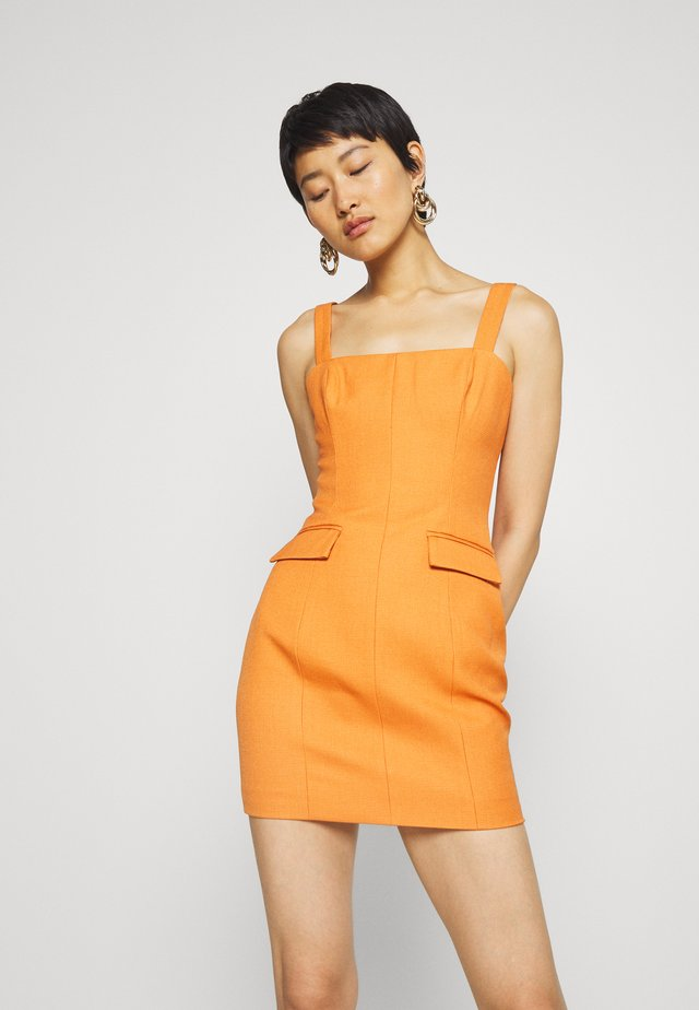 TAKE ME HIGHER DRESS - Shift dress - orange