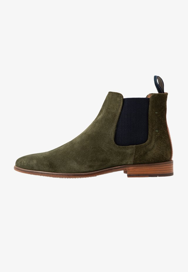 VENTINO - Classic ankle boots - olive