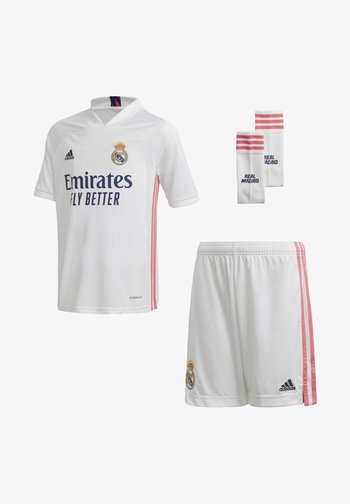 REAL MADRID AEROREADY MINIKIT - Club wear - white