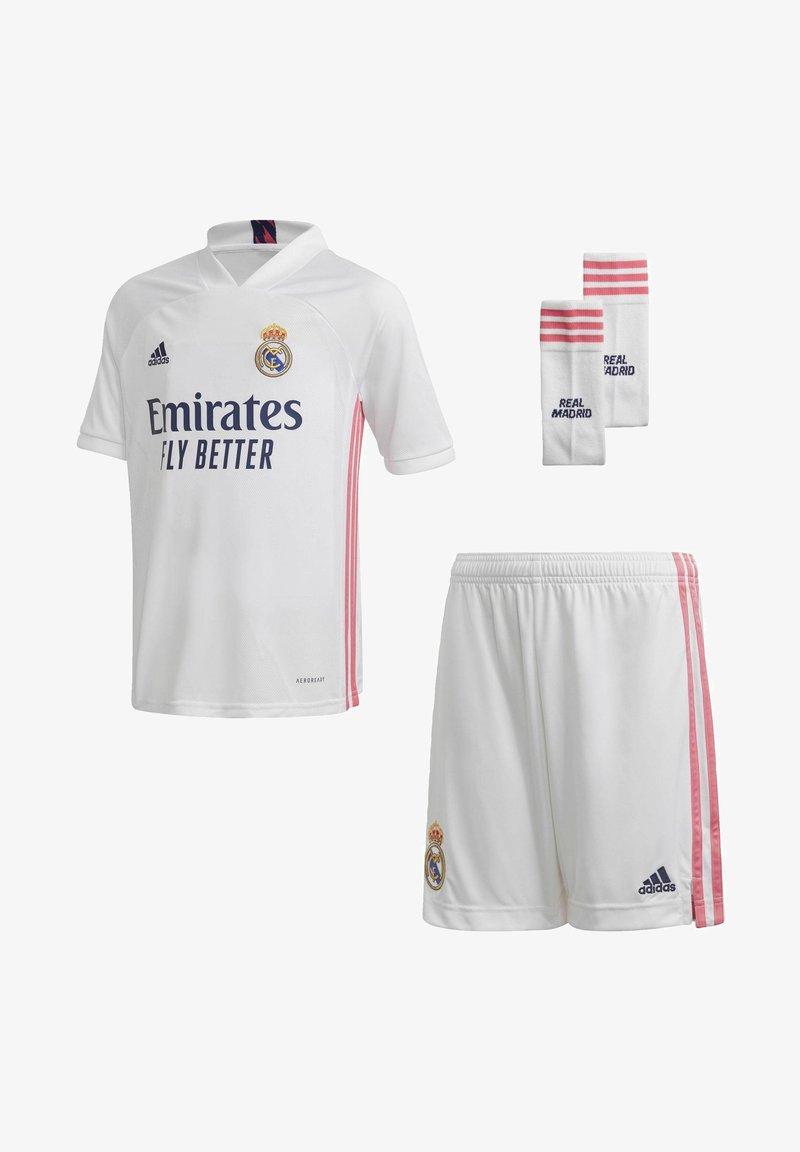 adidas Performance - REAL MADRID AEROREADY MINIKIT - Club wear - white