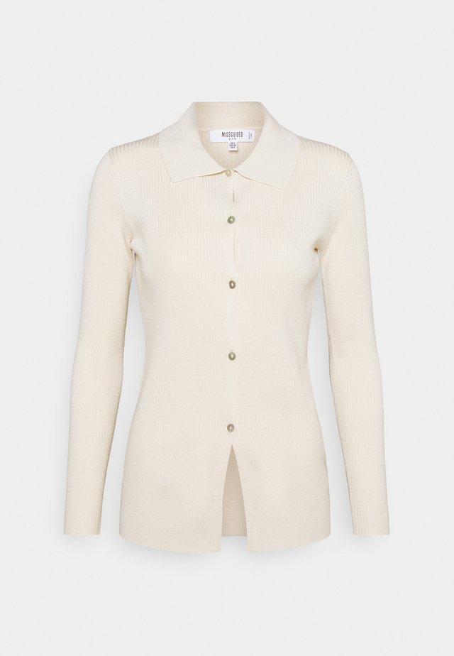 LOUNGEWEAR LONGLINE CARDIGAN - Vest - cream