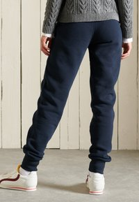 Superdry - COLLEGIATE  - Tracksuit bottoms - eclipse navy - 2